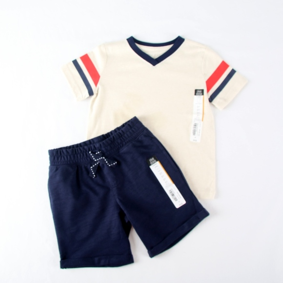 NWT OKIE DOKIE BLUE BOYS OR GIRLS SHORTS INFANTS 3-6 MO